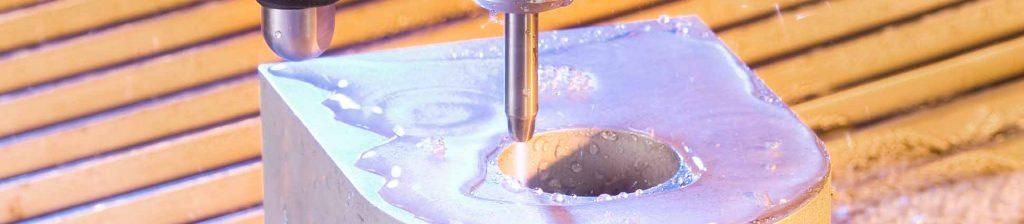 Водно рязане на дебели материали